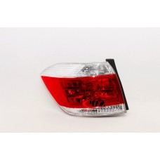LEFT REAR TAIL LIGHT TO SUIT TOYOTA KLUGER GSU4 (07/2010 - 12/2013)
