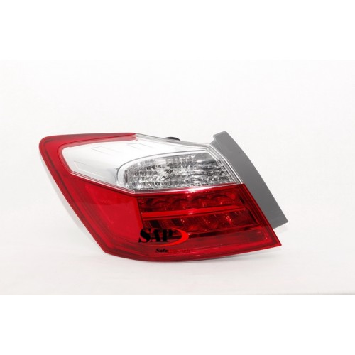 LEFT REAR TAIL LIGHT TO SUIT HONDA ACCORD CR SEDAN (05/2013 - 12/2016)