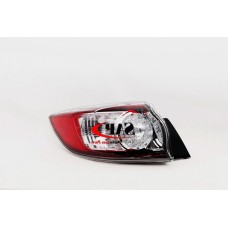 LEFT REAR TAIL LIGHT TO SUIT MAZDA 3 BL HATCHBACK (04/2009 - 12/2013)